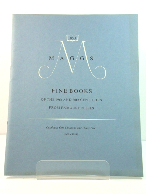 Image for Fine Books of the 19th and 20th Centuries from Famous Presses