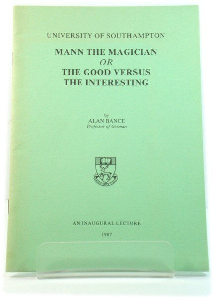 Image for Mann the Magician, or The Good Versus the Interesting