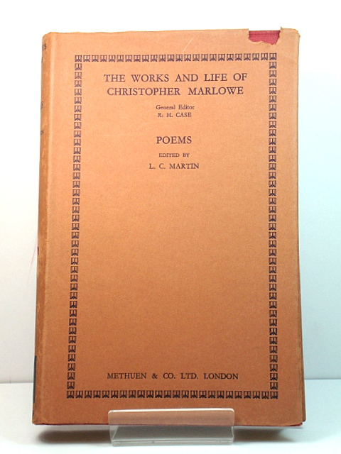 Image for The Works and Life of Christopher Marlowe: Poems