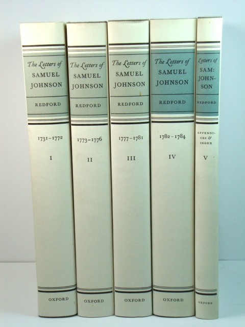 Image for The Letters of Samuel Johnson: Volumes I - V