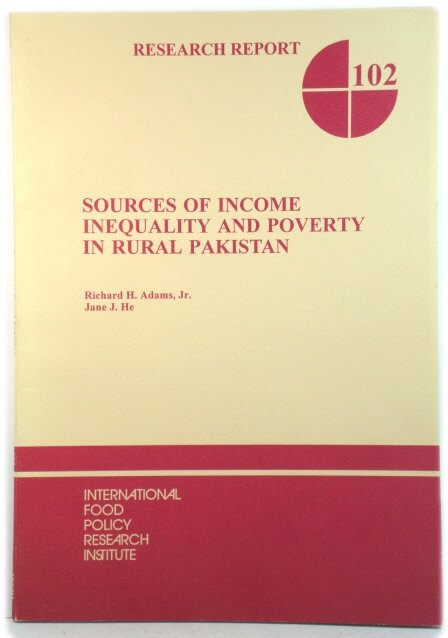 Image for Sources of Income Inequality and Poverty in Rural Pakistan