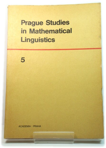 Image for Prague Studies in Mathematical Linguistics 5
