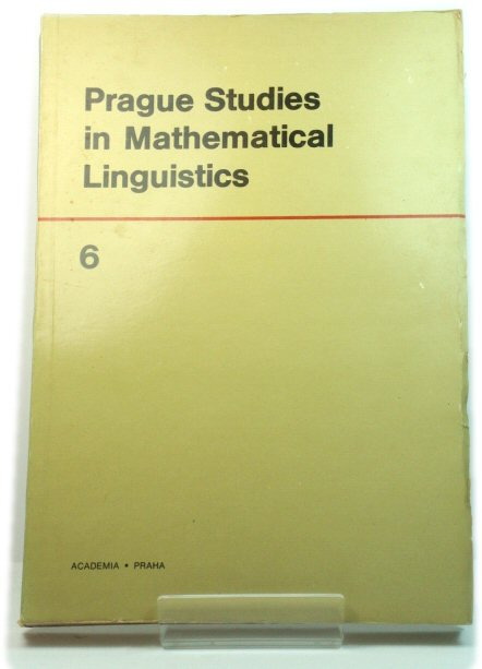 Image for Prague Studies in Mathematical Linguistics 6