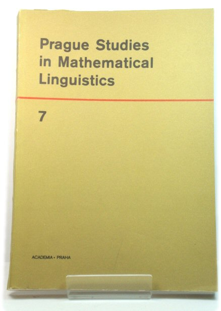 Image for Prague Studies in Mathematical Linguistics 7