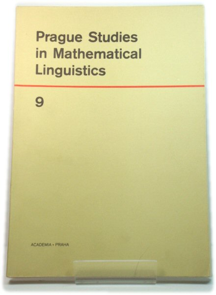 Image for Prague Studies in Mathematical Linguistics 9