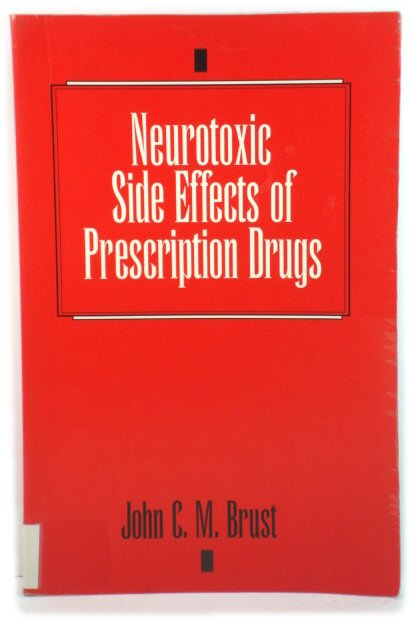Image for Neurotoxic Side Effects of Prescription Drugs
