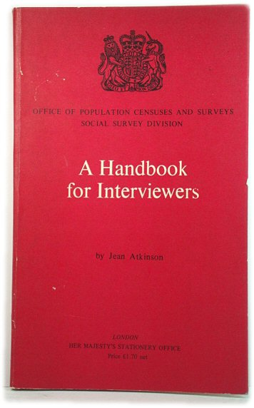 Image for Handbook for Interviewers