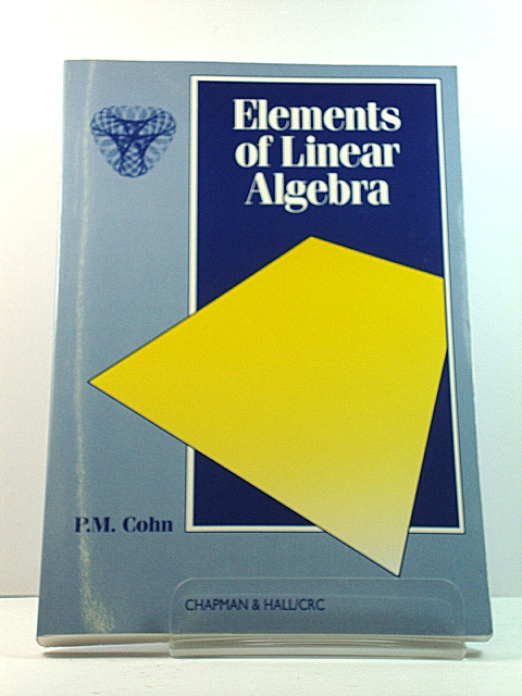 Image for Elements of Linear Algebra
