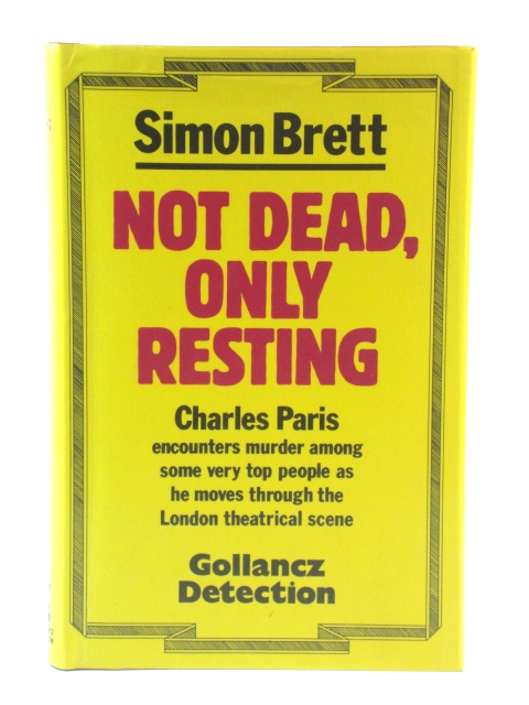 Image for Not Dead, Only Resting