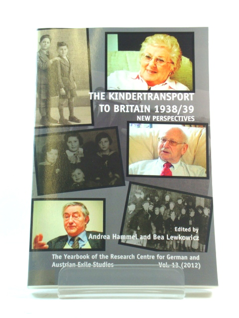 Image for The Kindertransport to Britain 1938/39: New Perspectives