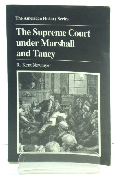 Image for The Supreme Court Under Marshall and Taney
