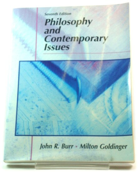 Image for Philosophy and Contemporary Issues