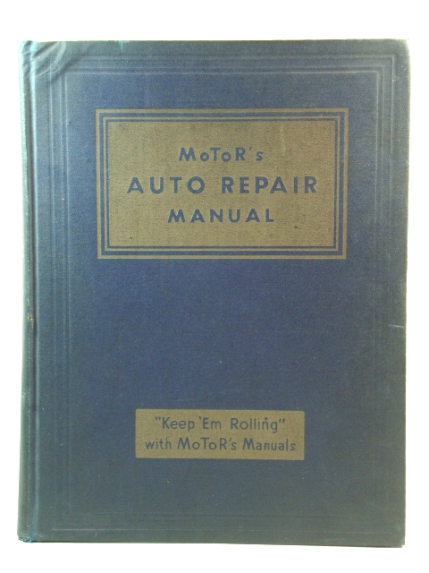 Image for MoToR's Auto Repair Manual
