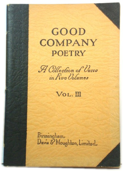 Image for Good Company Poetry, Vol. III