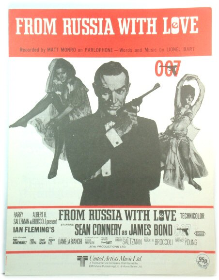 Image for From Russia With Love, Recorded By Matt Monro on Parlophone