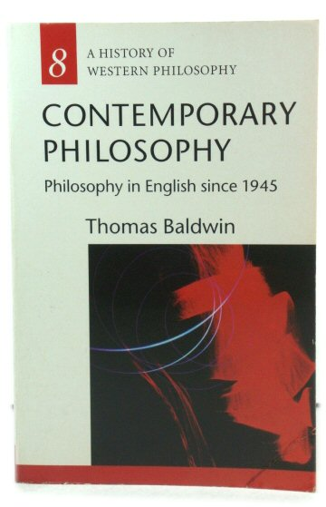 Image for Contemporary Philosophy: Philosophy in English Since 1945