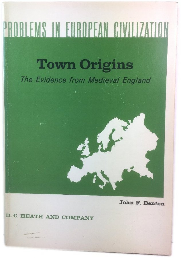 Image for Town Origins: The Evidence from Medieval England