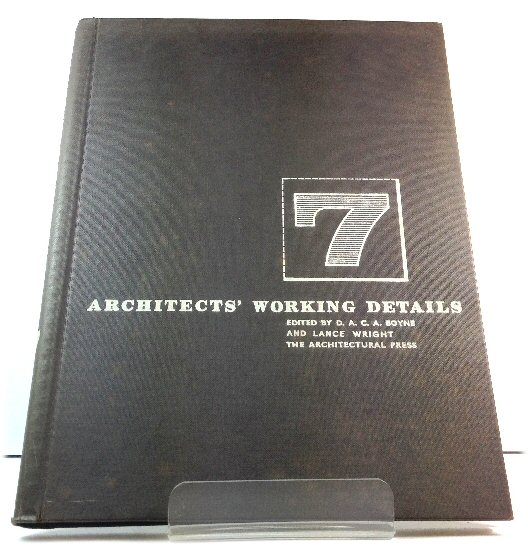 Image for Architects' Working Details: Volume 7