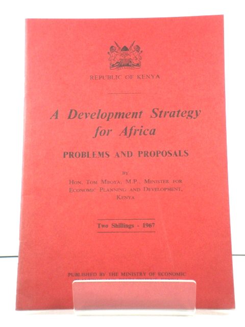 Image for A Development Strategy for Africa: Problems and Proposals