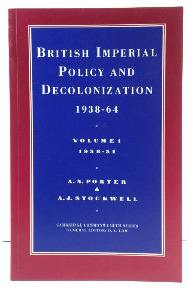 Image for British Imperial Policy and Decolonization, 1938-64, Volume 1, 1938-51