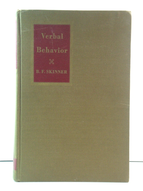 Image for Verbal Behavior (The Century Psychology Series)