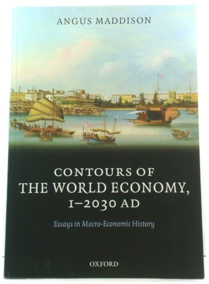 Image for Countours of World Economy, 1-2030AD: Essays in Macro-Economic History