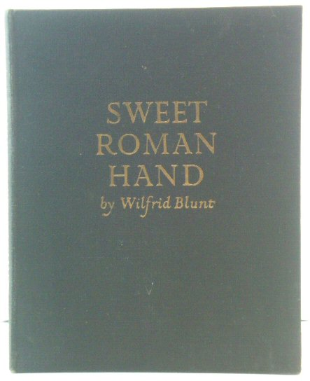 Image for Sweet Roman Hand: Five Hundred Years of Italic Cursive Script