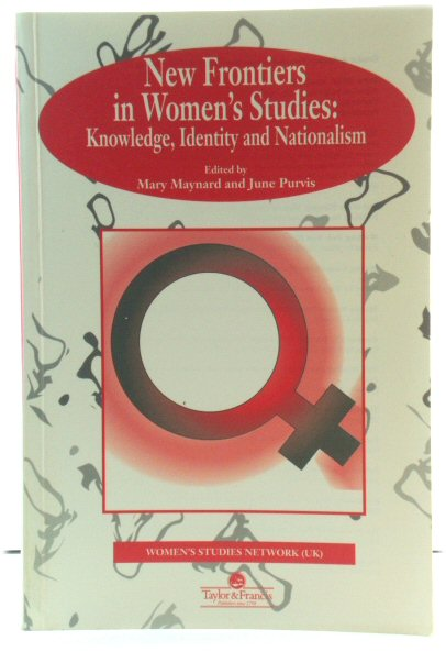 Image for New Frontiers in Women's Studies: Knowledge, Identity and Nationalism