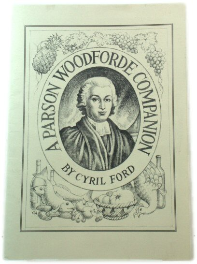 Image for A Parson Woodforde Companion