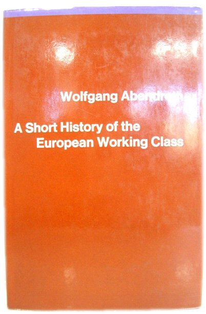 Image for A Short History of the European Working Class