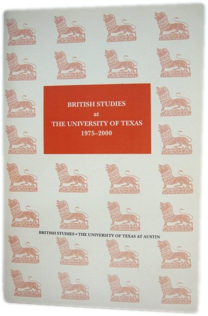 Image for British Studies at The University of Texas, 1975-2000