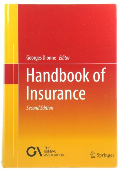 Image for Handbook of Insurance