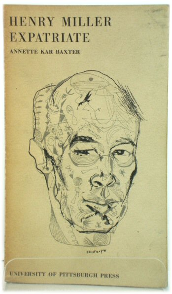 Image for Henry Miller: Expatriate (Critical Essays in English and American Literature)