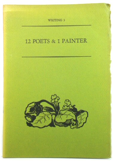 Image for Writing 3: 12 Poets & 1 Painter