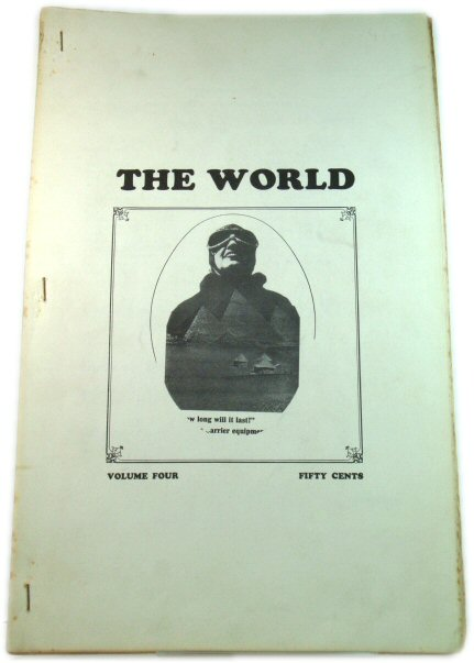 Image for The World: A New York City Literary Magazine #4 6/67