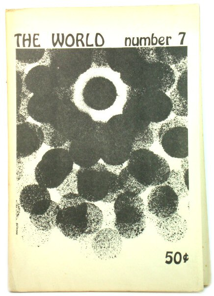 Image for The World: A New York City Literary Magazine #7 10/67