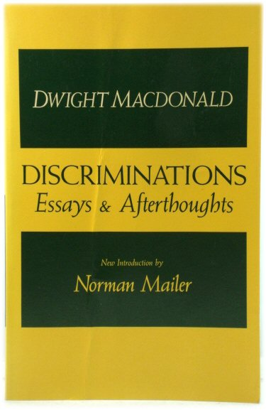 Image for Discriminations: Essays & Afterthoughts