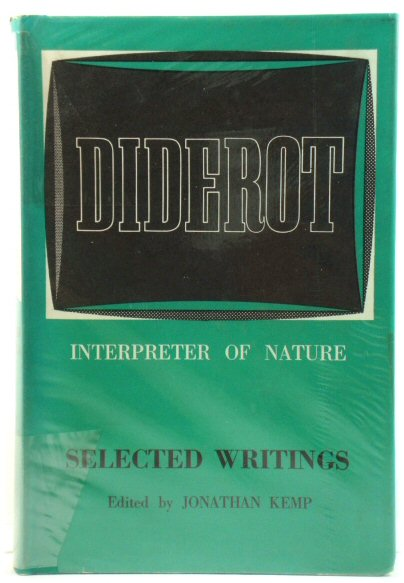 Image for Diderot, Interpreter of Nature: Selected Writings