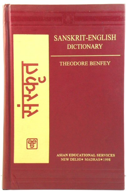 Image for A Sanskrit-English Dictionary: With References to the Best Edition of Sanskrit Author and Etymologies and Comparisons of Cognate Words Chiefly in Greek, Latin, Gothic and Anglo-Saxon