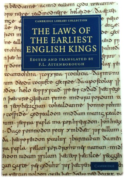 Image for The Laws of the Earliest English Kings (Cambridge Library Collection)