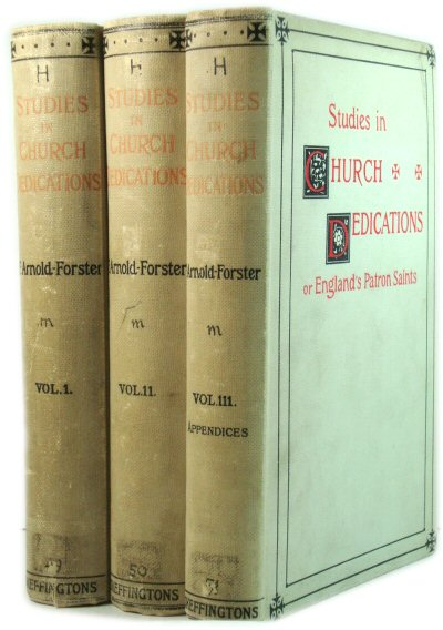 Image for Studies in Church Dedications or England's Patron Saints in Three Volumes