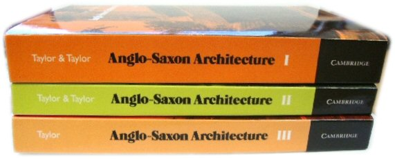 Image for Anglo-Saxon Architecture 3 Part Set
