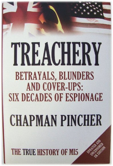 Image for Treachery - Betrayals, Blunders and Cover-ups: Six Decades of Espionage