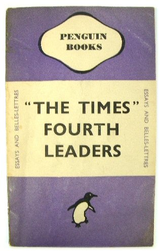 "Image for ""The Times"" Fourth Leaders"