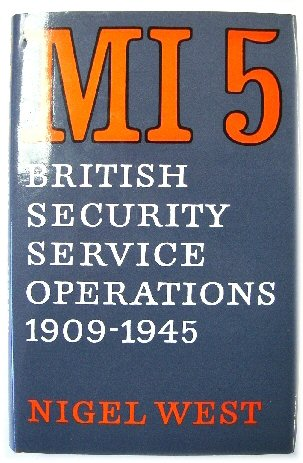 Image for MI5: British Security Service Operations 1909-1945