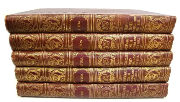 Image for The Life and Times of King Edward VII (5-Volume Set)