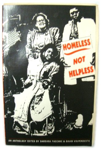 Image for Homeless Not Helpless: An Anthology