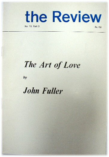 Image for The Art of Love: The Review No. 19, Part 3