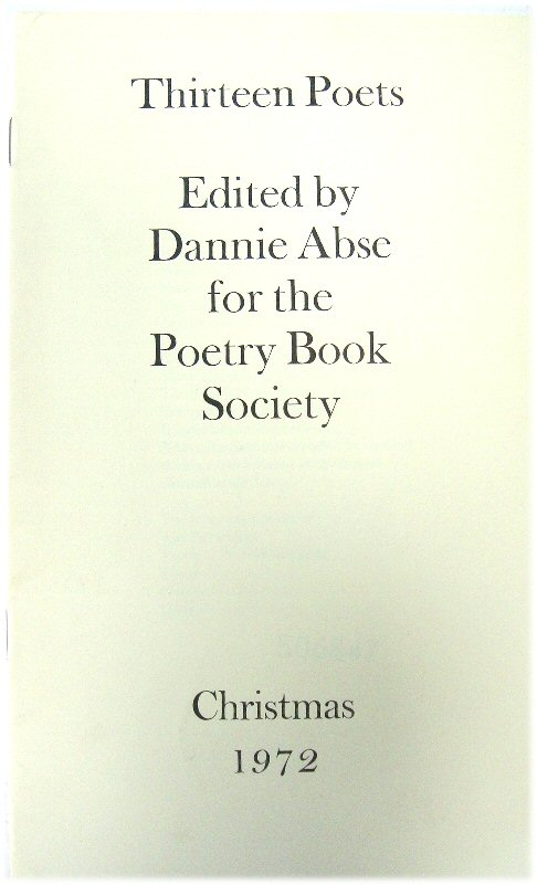Image for Thirteen Poets Christmas 1972