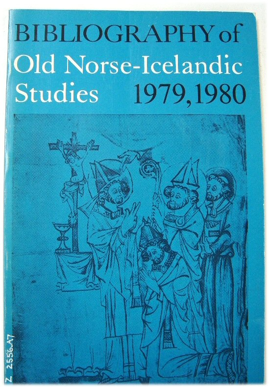 Image for Bibliography of Old Norse-Icelandic Studies: 1979, 1980